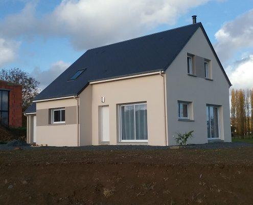Maison construite à Condé sur Vire par Maison d'en France
