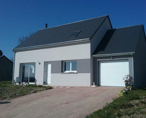Construction nd'une maison neuve par Maisons d'en France